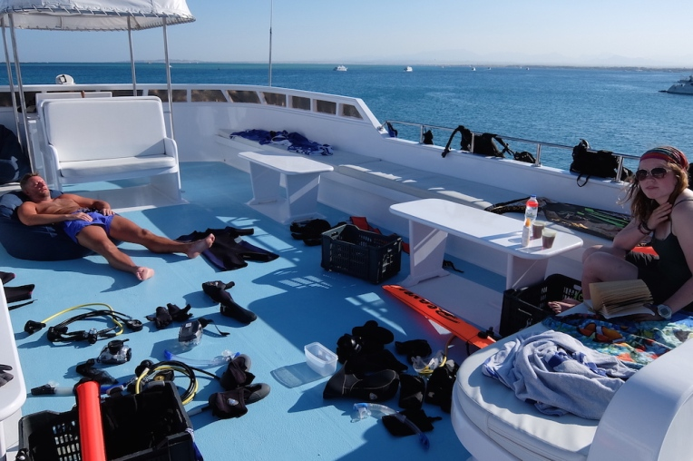 Plenty of space to dry the kit at the end of the trip!