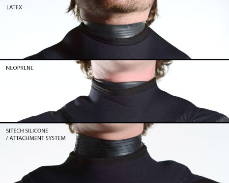 Fourth Element drysuit neck seals